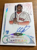 Rusney Castillo 2015 Topps Five Star Auto 16/25 RC Rookie Boston Red Sox