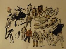HASBRO STAR WARS FIGURES LOT Stormtroopers Weapons & More Army Builder