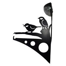 Cesta Colgante al aire libre Soporte de Montaje en Pared Gancho Energía Solar LED Luz de aves