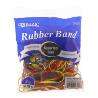 Assorted Sizes and Colors Excelled Quality Rubber Bands 2 Oz./56.70g - US SHIP