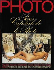 PHOTO MAGAZINE N° 158 -1980 : PARIS CAPITALE DE LA PHOTO - RONIS - CARTIER-BRESS