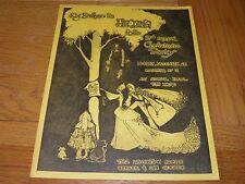 Big Brother Janis Joplin - Flyer Sokol Hall 25 Dec 1967 Christmas party invite