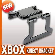 XBOX 360 Kinect Sensor Bracket Clamp Cradle Holder Camera LCD LED TV Clip Mount