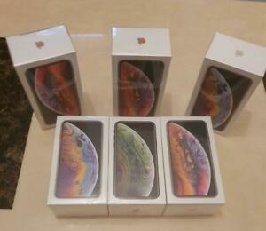 New Apple iPhone XS Unlocked SimFree Smartphone Various Colours 64GB UK Free P&P