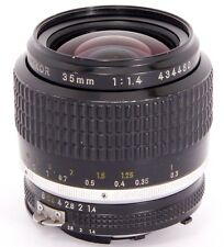 NIKKOR 35mm 1:1.4 FAST! WIDE-Angle Nikon Ai-S Lens for analog & DIGITAL SLRs