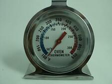 Savisto Stainless Steel Oven Thermometer / Temperature Gauge For Pizza Ovens HX