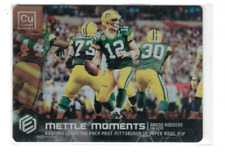 2018 Panini Elements Mettle Moments Copper #9 Aaron Rodgers /25 - NM-MT