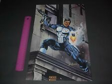 MARVEL COMICS THE PUNISHER POSTER PIN UP JUSKO