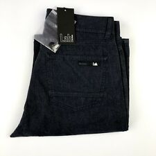 $220 Pal Zileri Lab Mens Navy Blue Soft Cotton Casual Chino Khaki Pants Sz 29x34