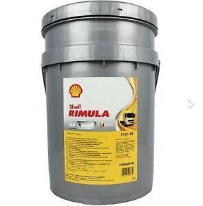 Shell Rimula R4 X 15W40 Engine Oil Ci4 20L