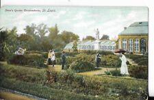 shaws garden conservatories,st louis missouri early undivided back rare card