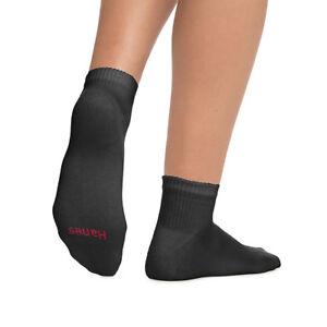 Hanes Ultimate Women's Ankle Socks 6-Pack