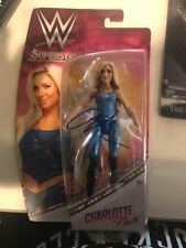 Charlotte Flair signed WWE Mattel Barbie Figure Proof