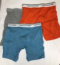 Tommy Hilfiger Men's Three Assorted Classic Boxer Briefs Size S