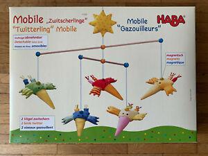 """HABA Mobile """"Zwitscherlinge"""", sehr guter Zustand, Originalkarton, komplett"""