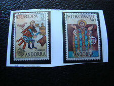 ANDORRE (espagnol) - timbre yvert et tellier n° 89 90  n** (A22) stamp andorra