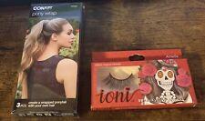 Conair Pony Wrap & Ioni 3D Faux mink eyelash set