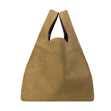RRP€460 MM6 Maison Margiela S54WC0011 Large 100% Leather Tote Bag Made in Italy