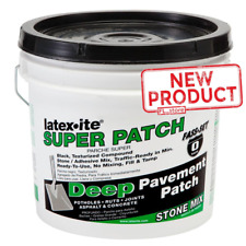1 Gal Road Pothole Patch Pavement Crack Sealer Concrete Asphalt Driveway Repair