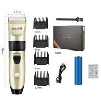 Men Hair Trimmer Electric Beard Trimmer Shaver Barber Cutter Cordless Razor US