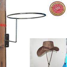 Cowboy Hat Rack Wall Mounted Coat Hat Hook Rack Hanger Holder Stand Home - Metal