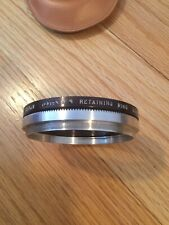 Tiffen 85mm Adapter Ring Series 8 with Retaining Ring