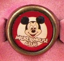 Mickey Mouse Club Adjustable Ring