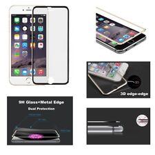Véritable Prortecteur D'Écran 3D Bord à Bord pour Apple Iphone 8 7 6s 6 Noir