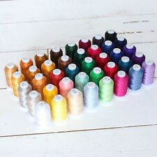 40 Spool Polyester Embroidery Machine Thread Sets - 500M Cones -4 Sets Available