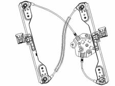 For 2005-2008 Dodge Magnum Window Regulator Front Right TYC 21642VD 2006 2007