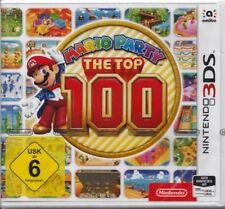 Mario Party The Top 100-pour Nintendo 3 DS NOUVEAU & NEUF dans sa boîte-USK 6-version allemande