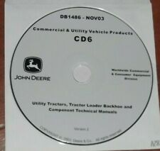 John Deere 5105 5205 5310 5410 5510 Trattore 110 Pala Meccanica Riparazione