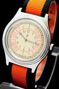 Original Rare Soviet watch CHAIKA wrist  Medical doctor bowl mechanical 1601