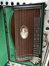 Alte Konzert Zither mit Koffer