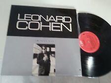 LEONARD COHEN I'M YOUR MAN RARE ISRAELI LP 1ST 1988