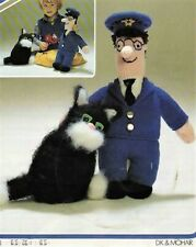"0244 Postman Pat Doll & Cat DK 16"" - Vintage Knitting Pattern Reprint"
