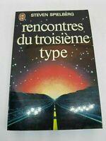 Rencontres du Troisième Type - Steven Spielberg - 1979 Rare! LIVRE SPECIMEN