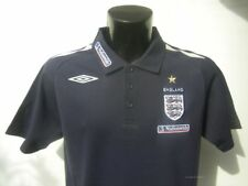 England Three Lions Polo Shirt Team Fan umbro Artikel Gr. L navy/blau WM NEU