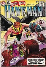 Brave and the Bold #35 Dc Comics 1961 2nd Sa Hawkman Joe Kubert Art Vg