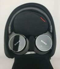 Sony Mdrzx750Bn Bluetooth Noise Cancelling Headset with Case and Accessories