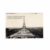AK Ansichtskarte Paris / Les Jardins du Trocadero / la Tour Eiffel