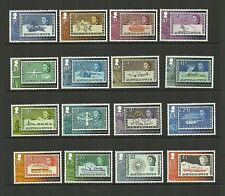 BRITISH ANTARCTIC TERRITORY 2013 SG596-611 ANNIV OF 1ST BAT STAMPS SET MNH
