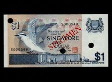 Singapore:P-9,CS4,1$ 1989  * Birds Series * Specimen * UNC *