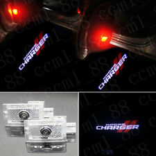 1 Pair Car LED Courtesy Puddle Lights Logo Projector for Dodge Charger 2006-2019