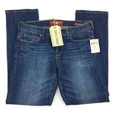 Lucky Brand Sofia Straight Ankle Jeans Mid Rise Medium Wash Women's Size 8 $99