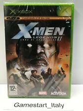 X-MEN LEGENDS 2 L'ERA DI APOCALISSE - XBOX - VIDEOGIOCO NUOVO SIGILLATO PAL