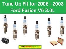 Spark Plugs, Oil Filter, Air Filter To Tune Up For 2006 2007 2008 Ford Fusion V6