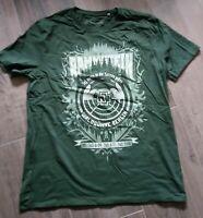 Rammstein - Berlin Waldbühne 2016 T-Shirt Size XL Green Edition NEU
