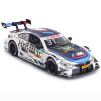 1/32 BMW M4 DTM 2017 Racing Car Model Alloy Diecast Toy Vehicle White Gift Kids