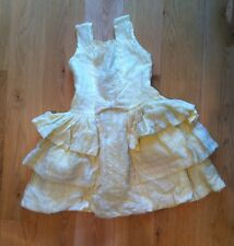 Girl's Party Dress-Vintage(1960s)  Made in Paris age  7-9 yrs